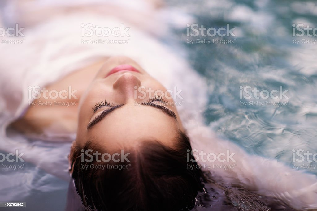 Water is always the answer stock photo