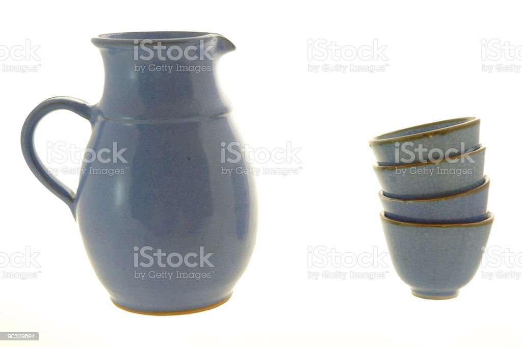 Water jar stock photo