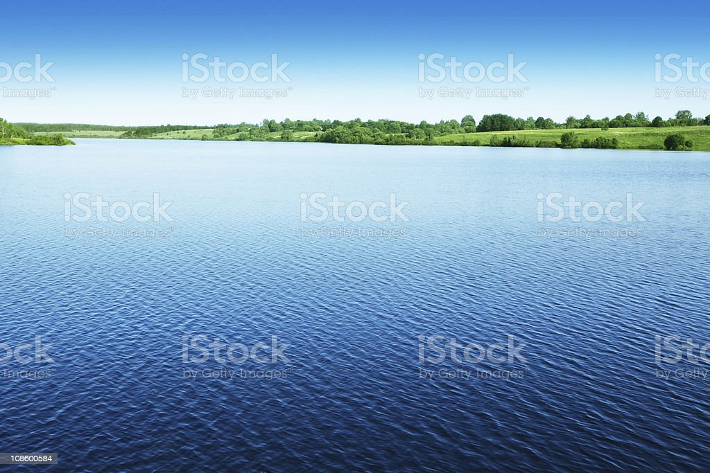 Water landscape. royalty-free stock photo