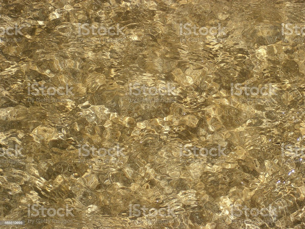 Water Little Waves Texture royalty-free stock photo