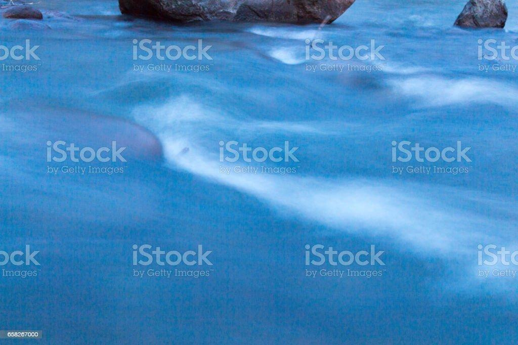 Water, long exposure stock photo