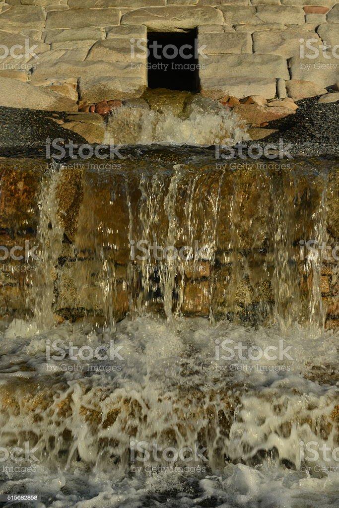 Water management, Jersey, U.K. stock photo