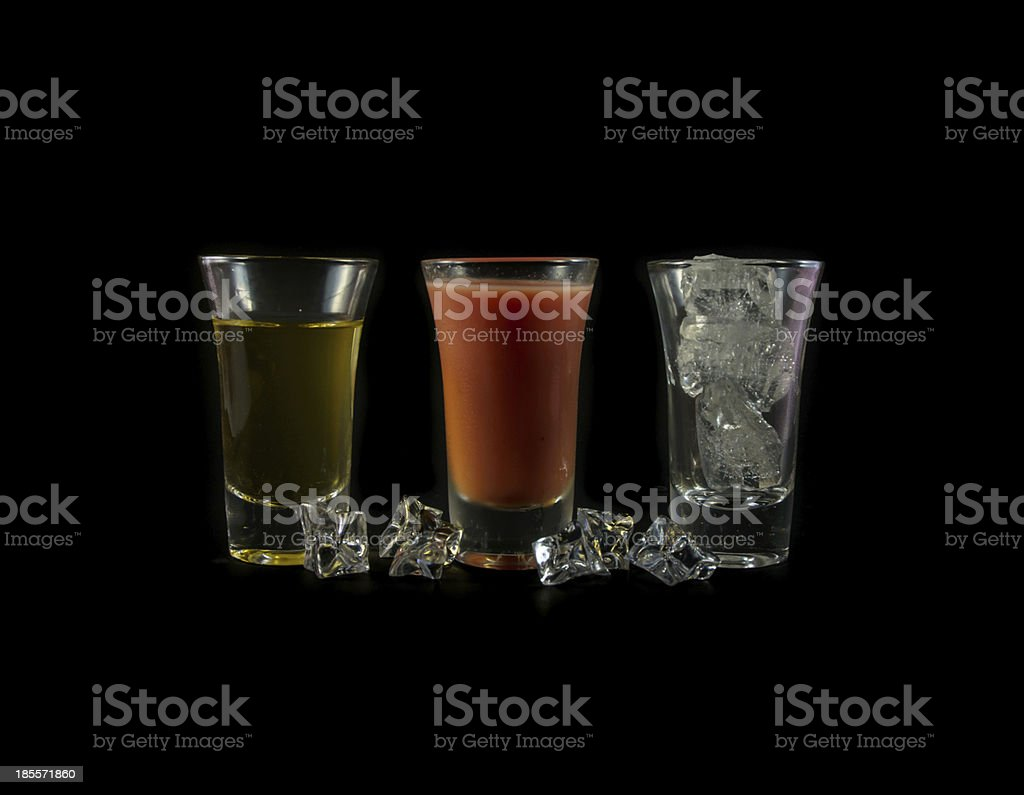 water melon drink with ice cube royalty-free stock photo