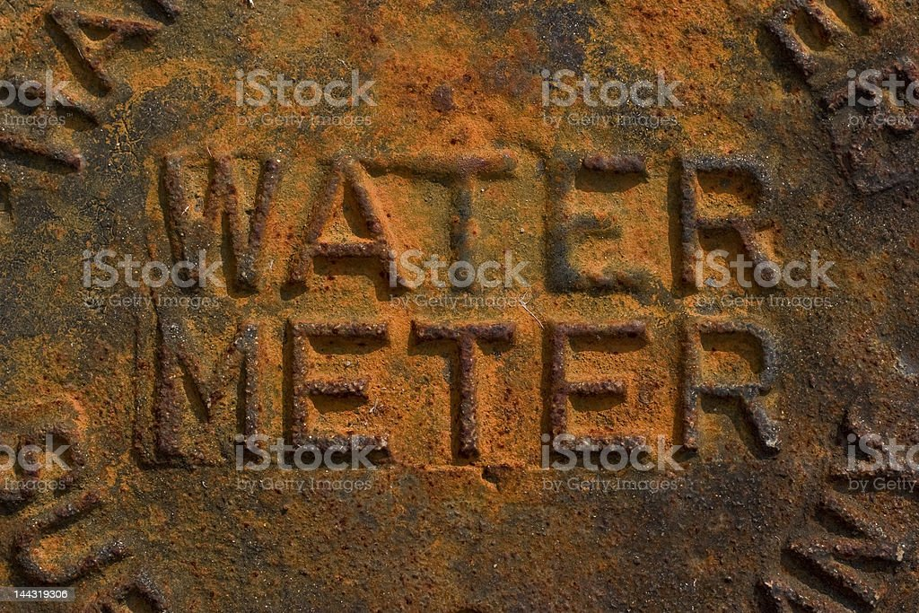 Water Meter royalty-free stock photo