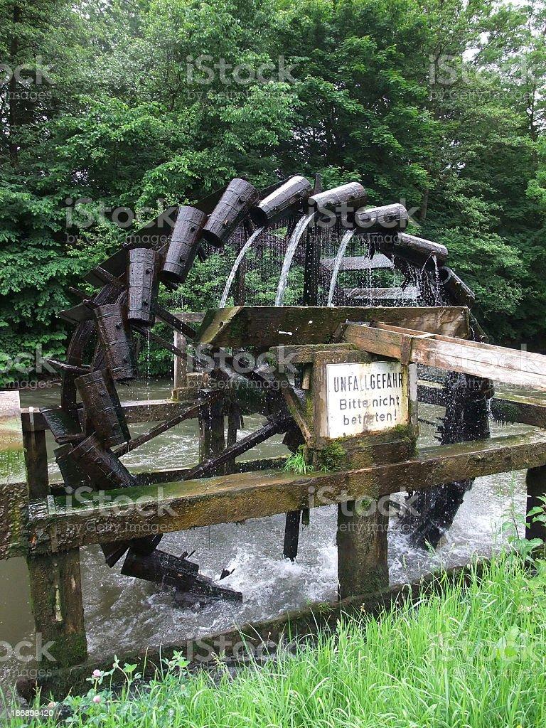 water mill - Wasserrad royalty-free stock photo