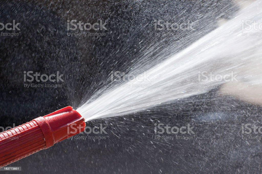 water nozzle: spraying stock photo