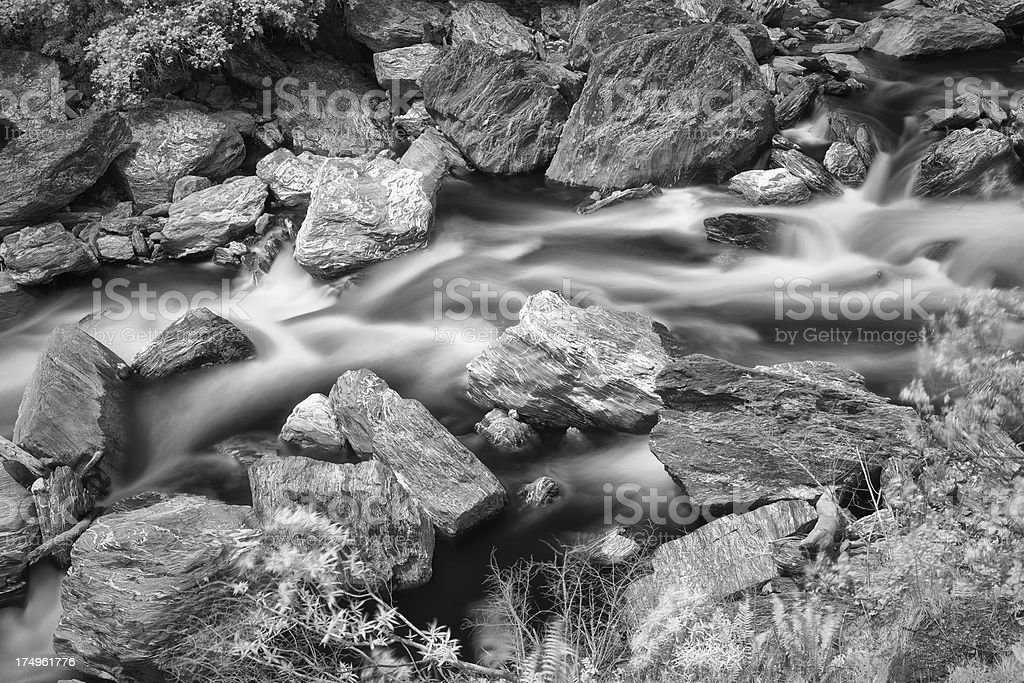 Water Of Haast Pass stock photo