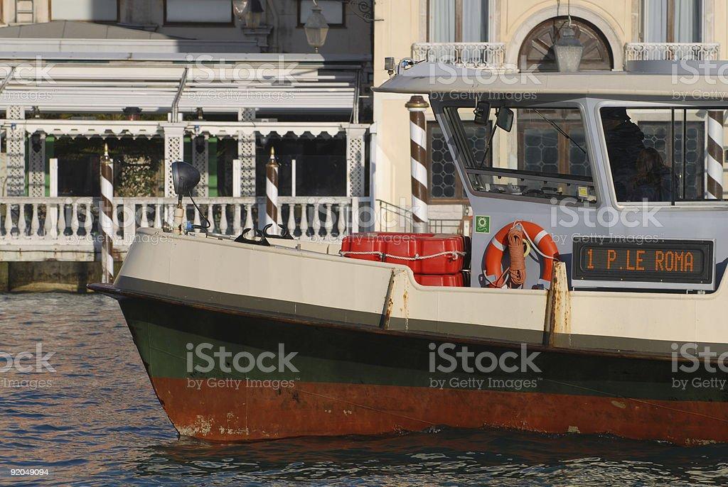 Water Omnibus royalty-free stock photo