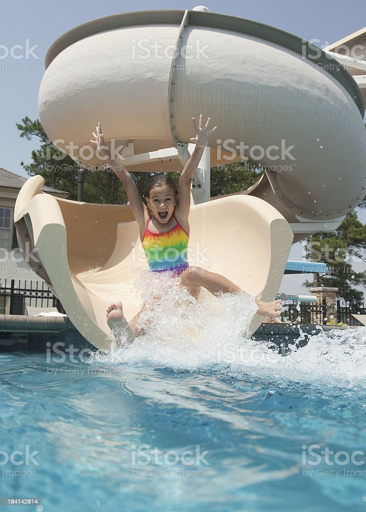 Water Park Blast stock photo