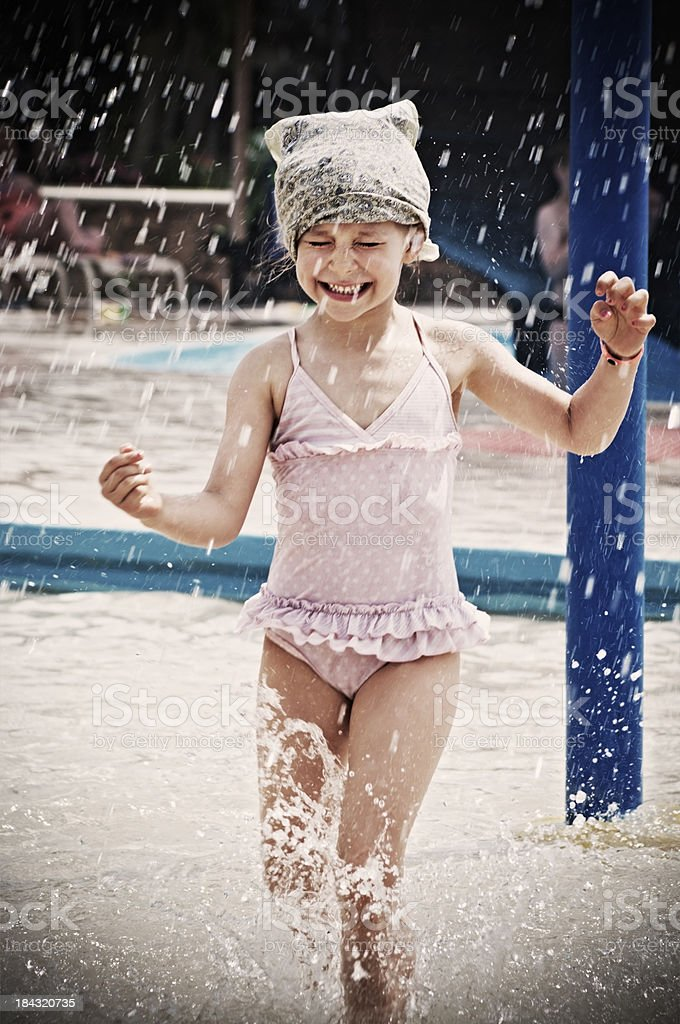 Water Park fun royalty-free stock photo