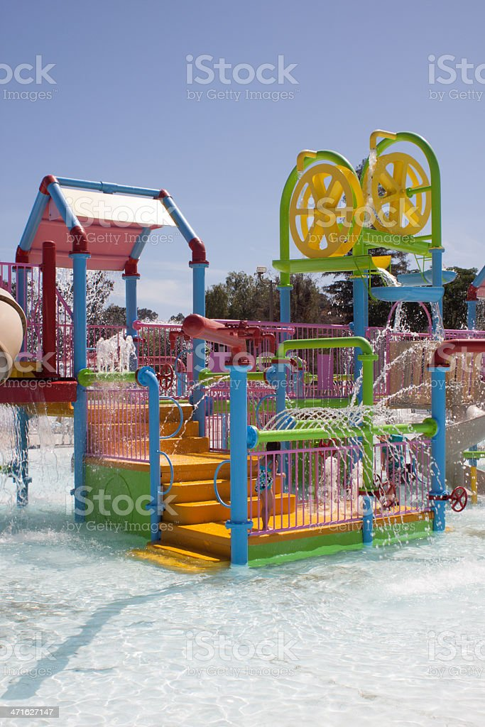 Water Park Play Ground royalty-free stock photo