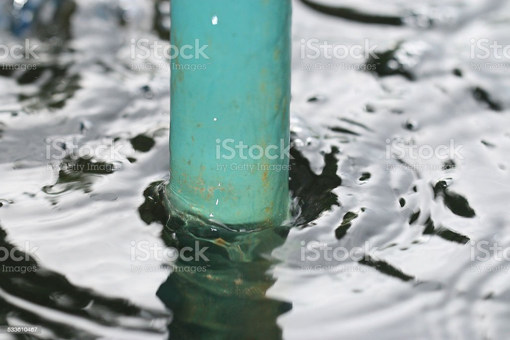 water pipe stock photo