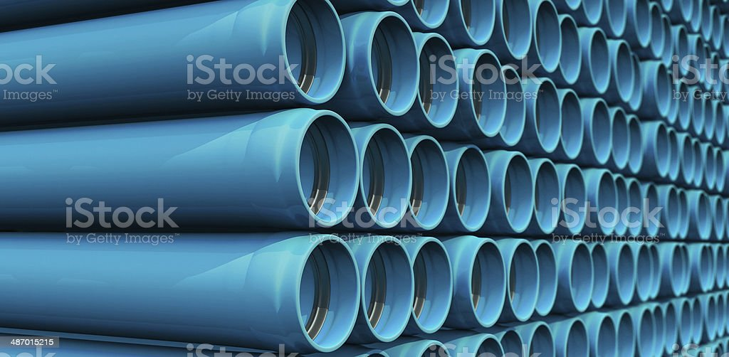 Water Pipes stock photo