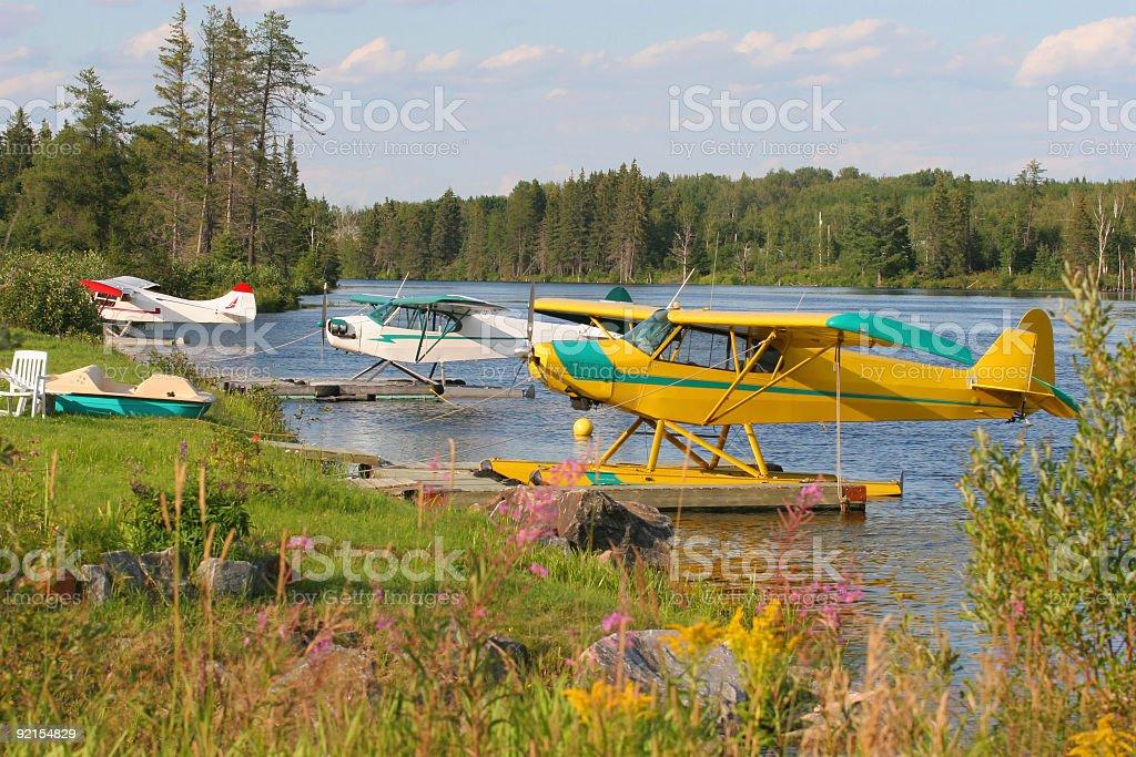 Water Planes stock photo