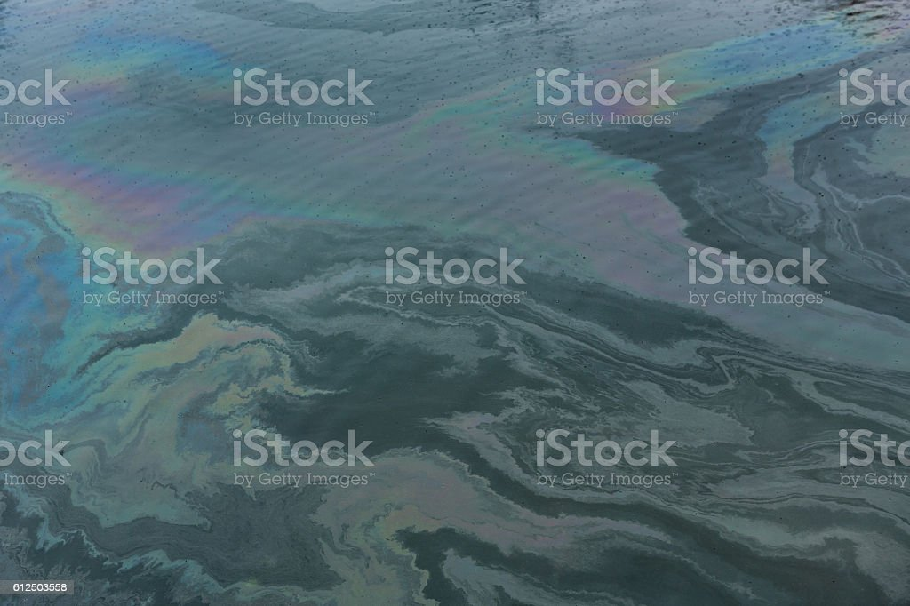 Water Pollution Background stock photo