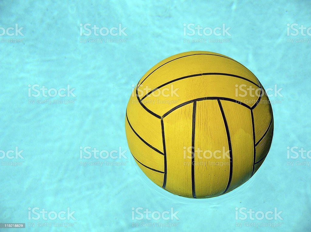 Water Polo Ball royalty-free stock photo