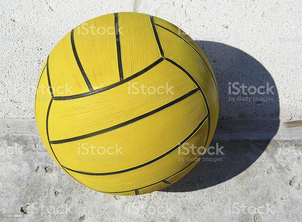 Water Polo Ball stock photo