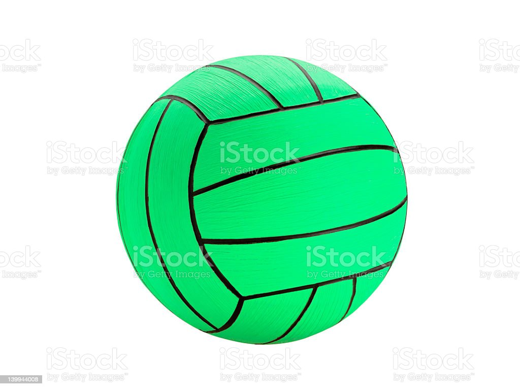 Water Polo Ball (Click for more) stock photo