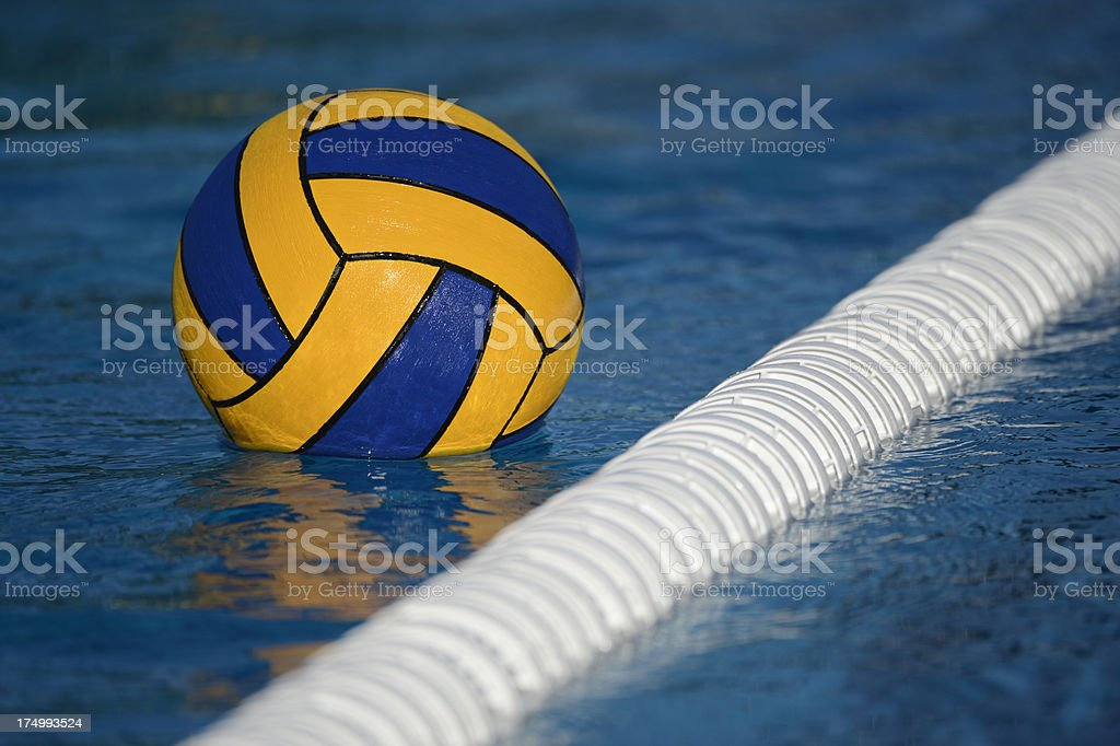 Water Polo Ball stock photo