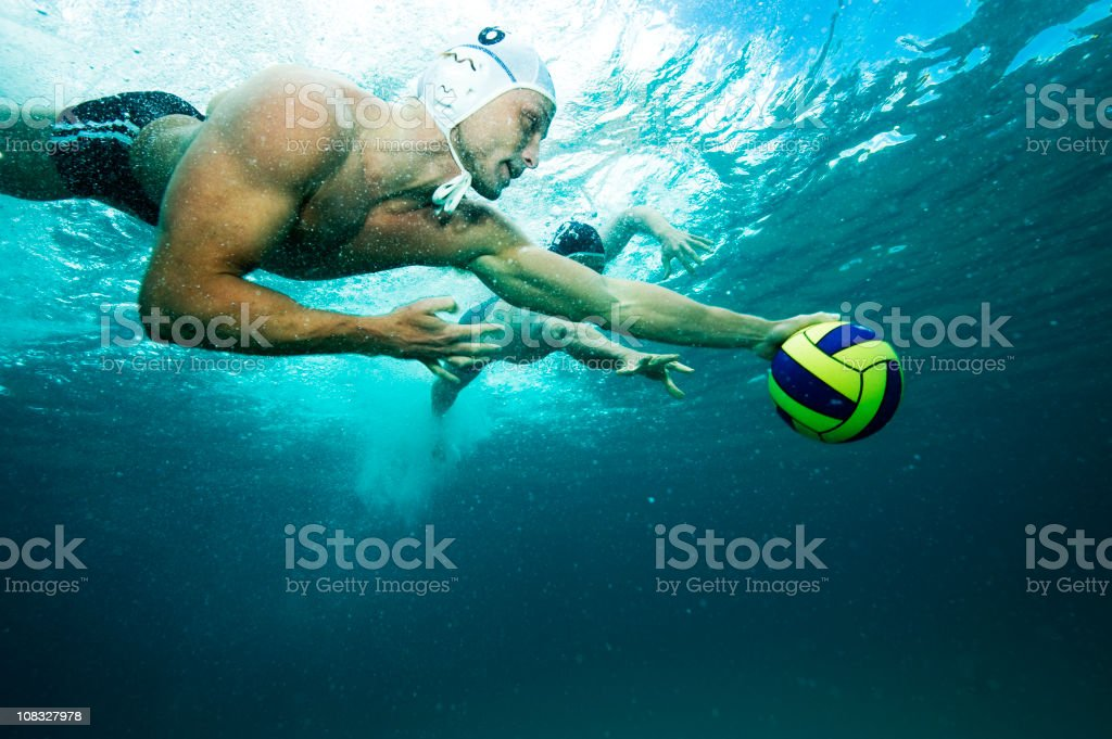 Water Polo royalty-free stock photo