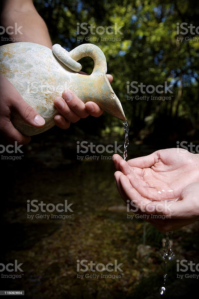 water poured out - environment royalty-free stock photo