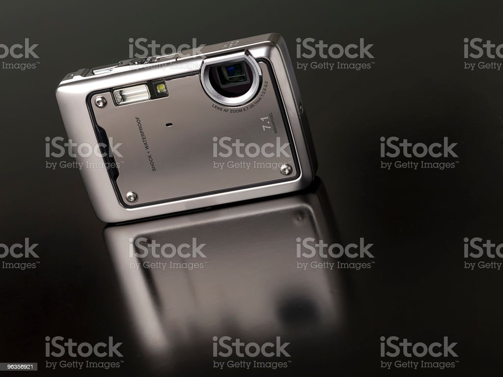 Water proof  Digital camera stock photo