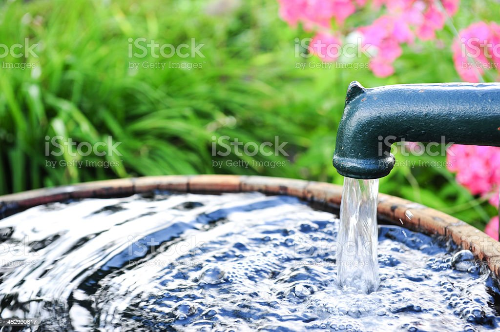 Water pump stock photo