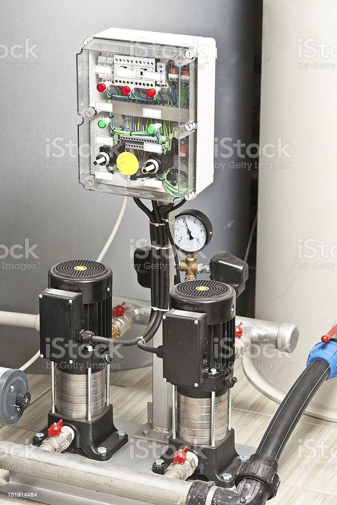 water pumps royalty-free stock photo