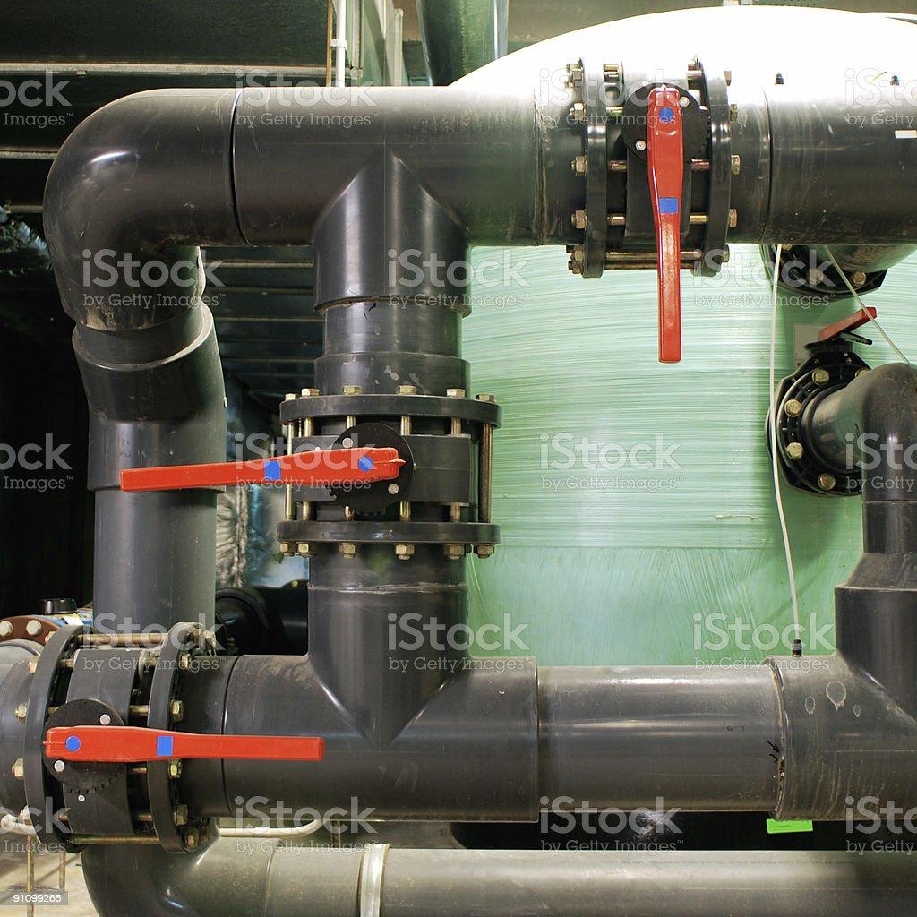 Water purifier stock photo