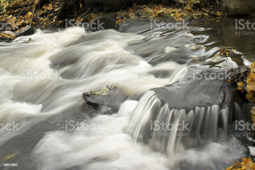 Water Rapid royalty-free stock photo