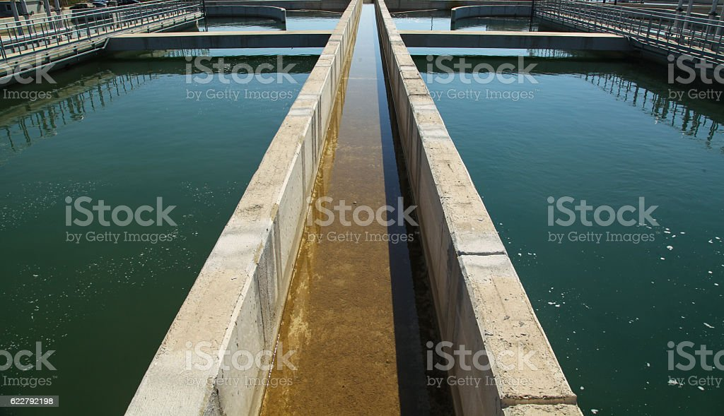 Water recycling stock photo
