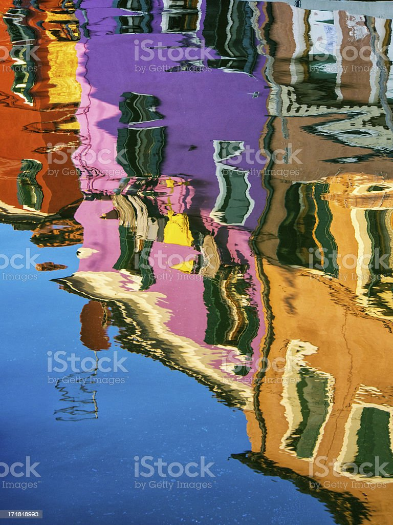 Water reflection royalty-free stock photo