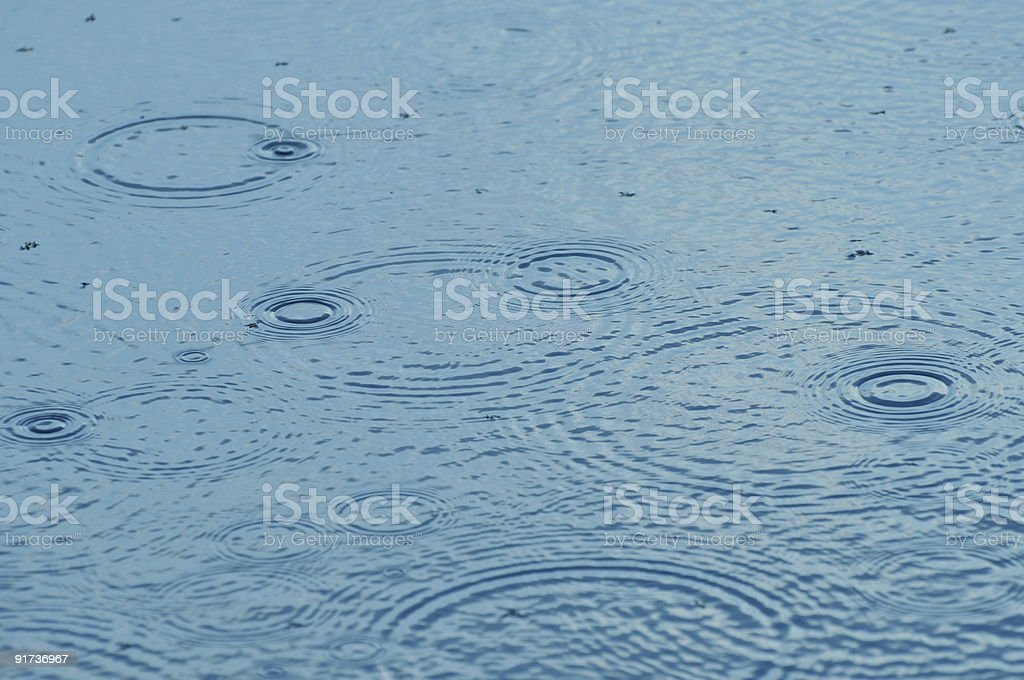 Water ripples background royalty-free stock photo