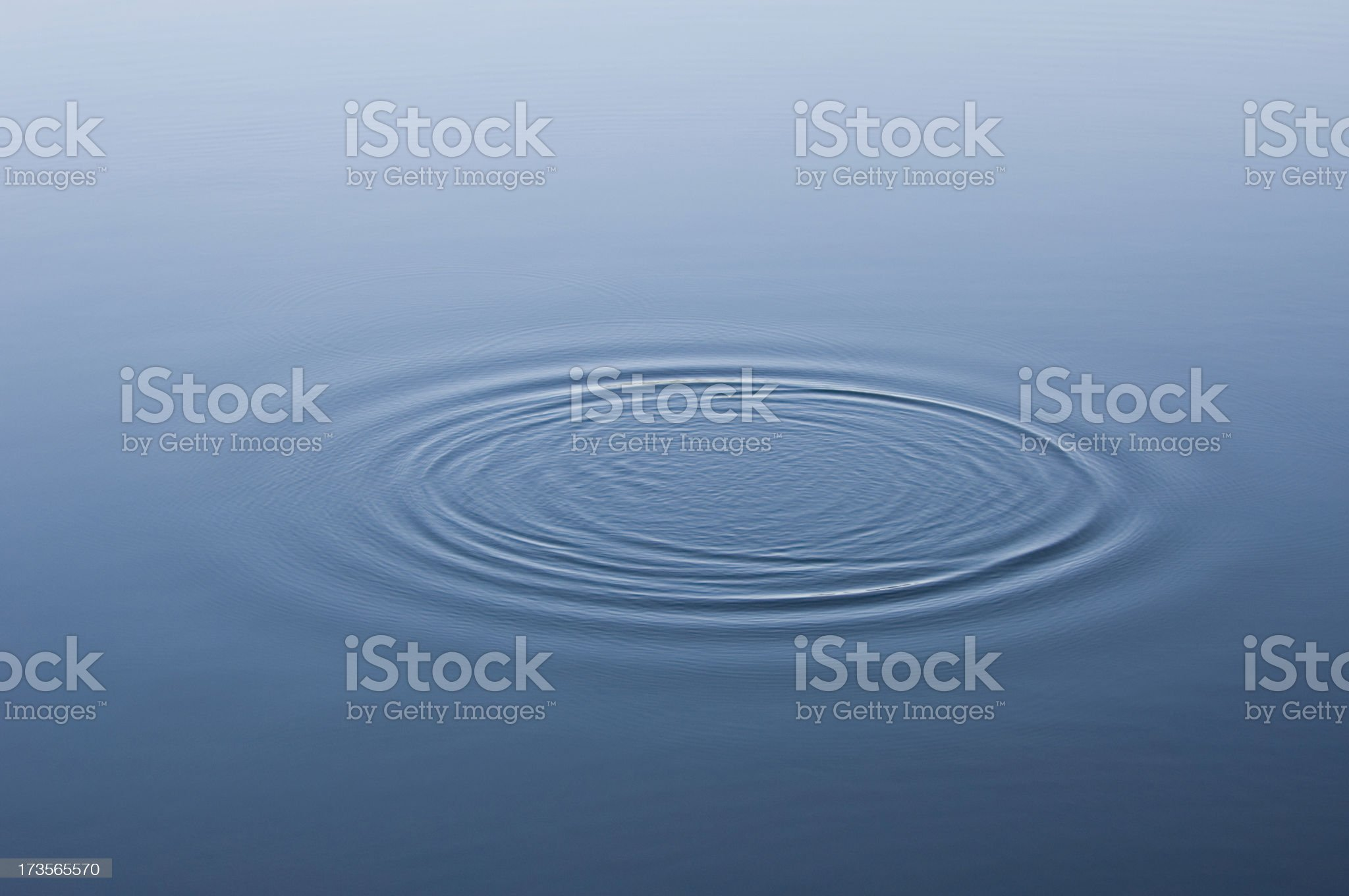Water ripples royalty-free stock photo
