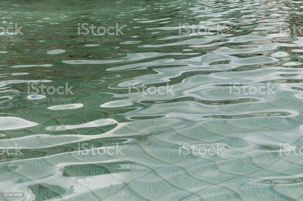 Water ripples stock photo