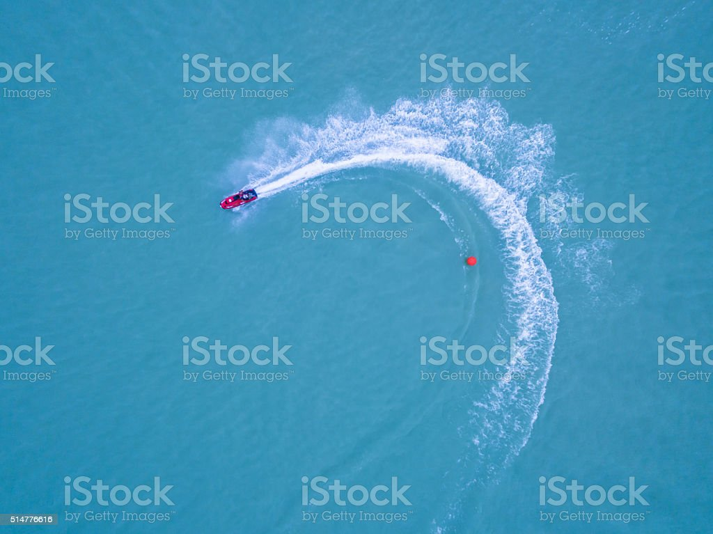 Water rowing race stock photo