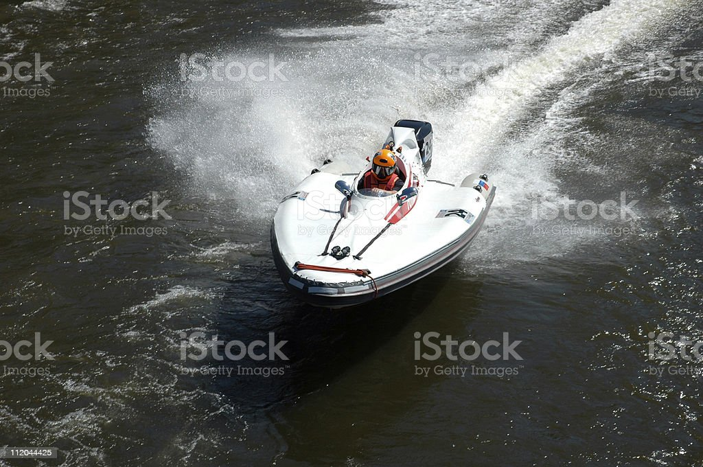 Water scooter royalty-free stock photo