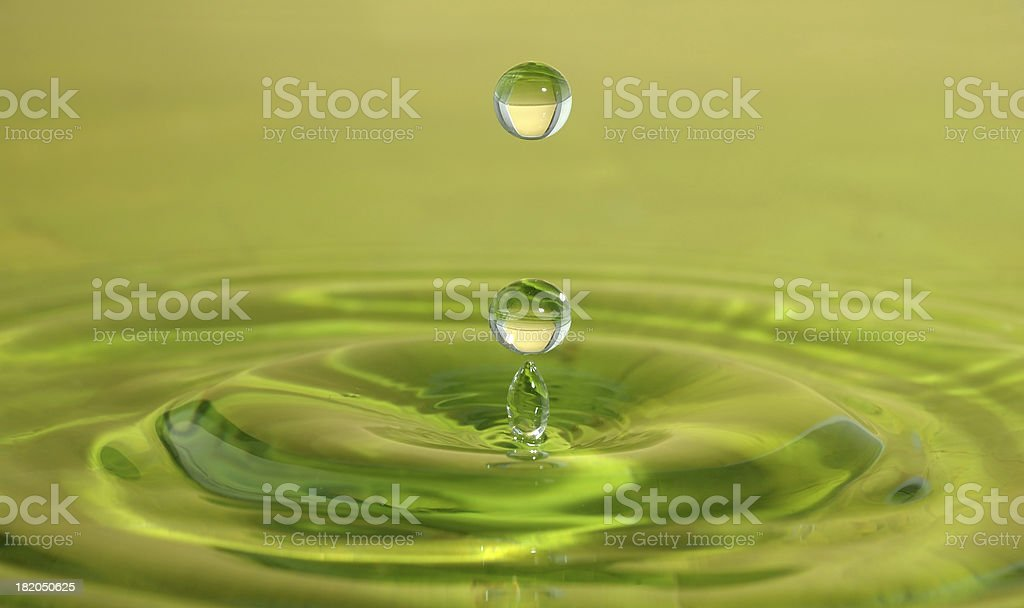 Water sculpture royalty-free stock photo