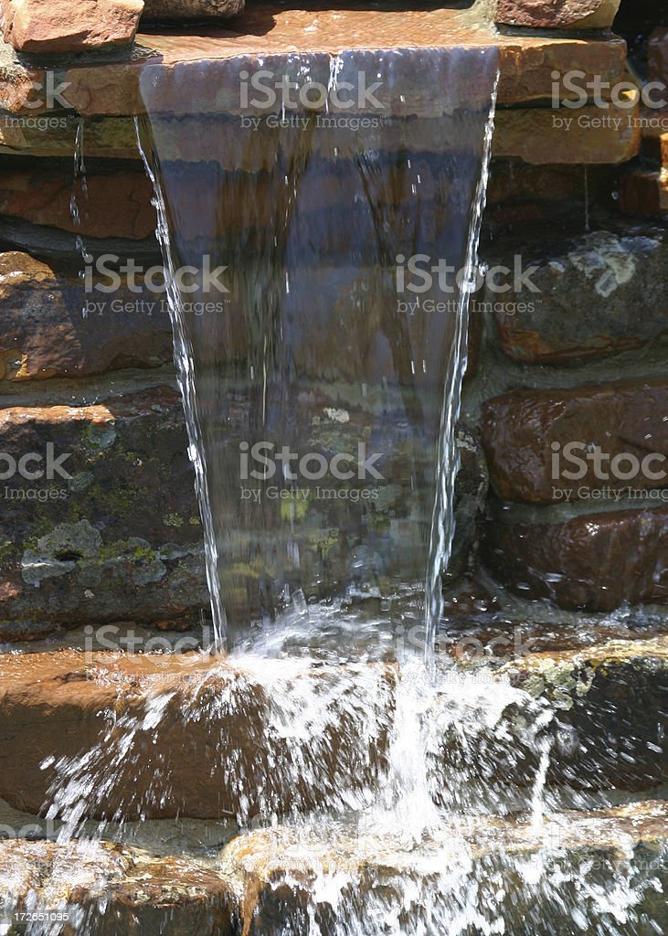 Water Sheer royalty-free stock photo