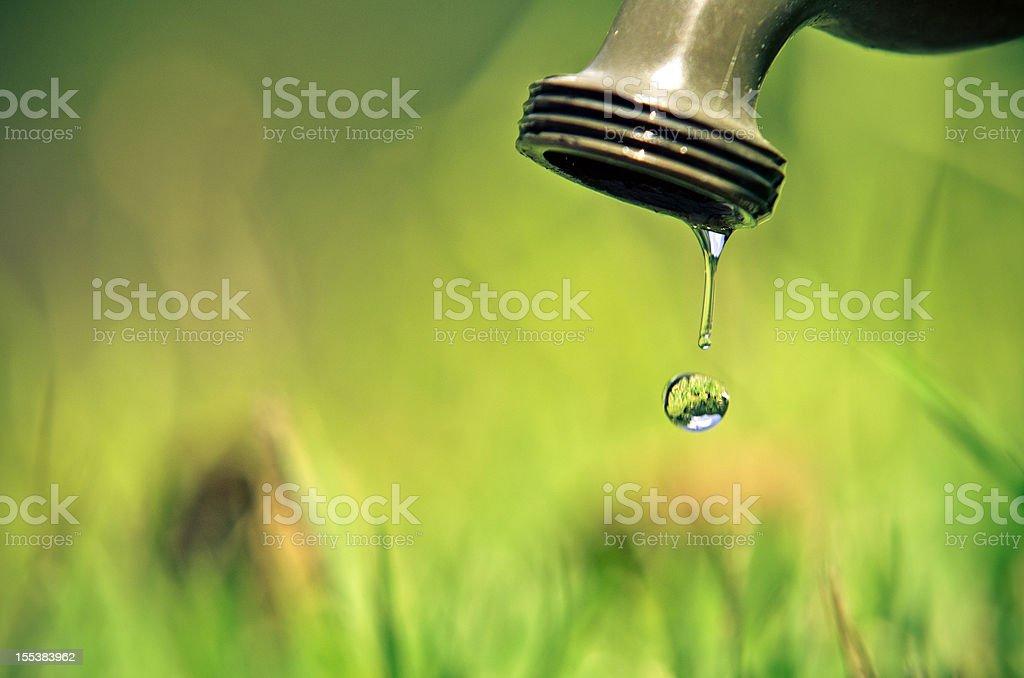 Water shortage stock photo