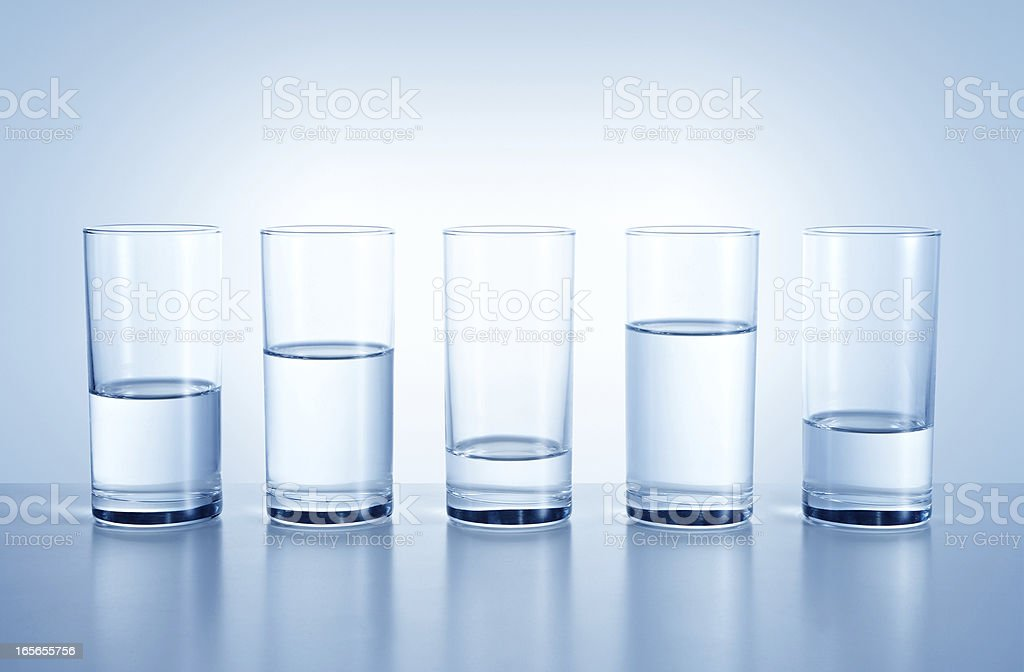 Water shortages in different region stock photo