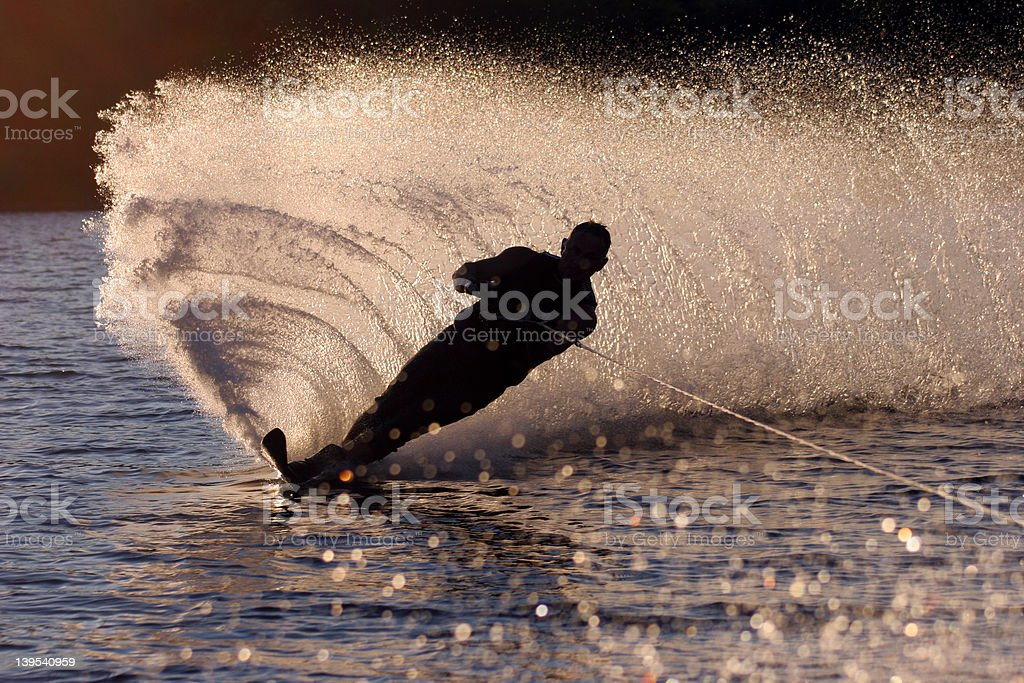 Water Ski royalty-free stock photo