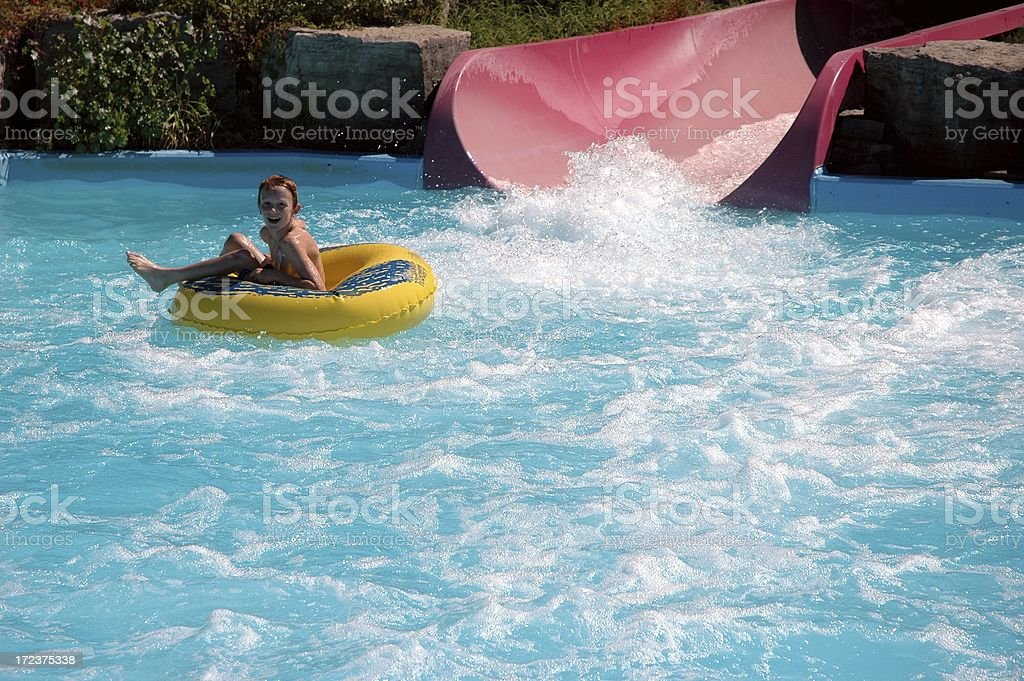 Water Slide royalty-free stock photo