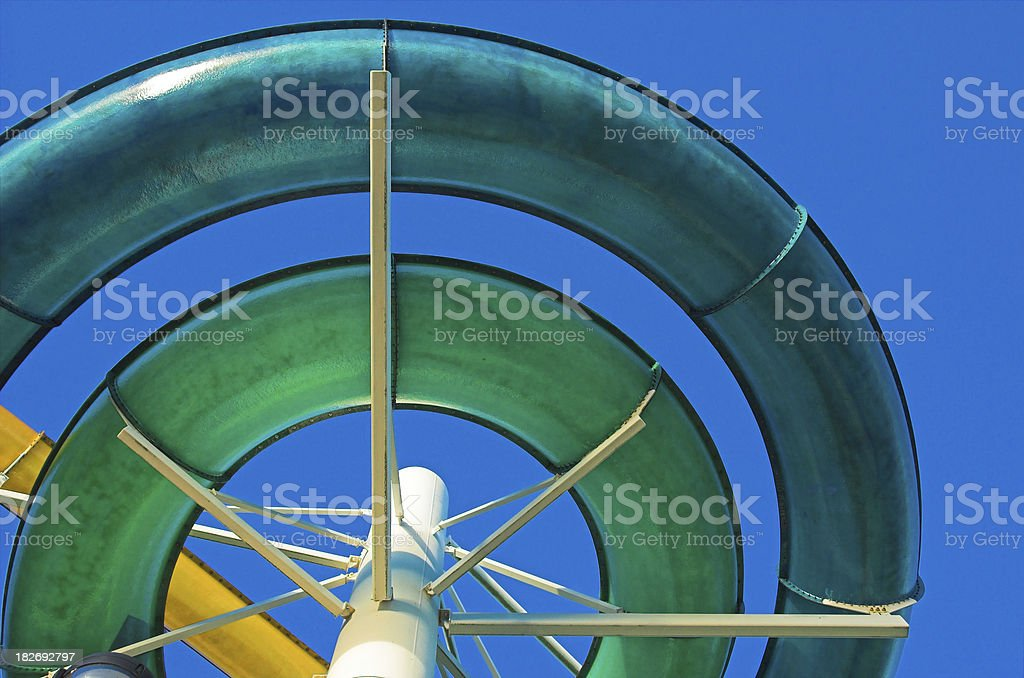 Water Slide stock photo