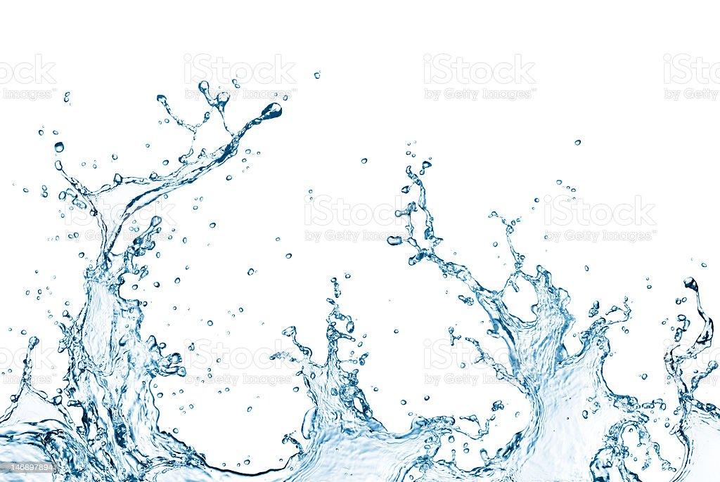 Water Splash XXXL stock photo
