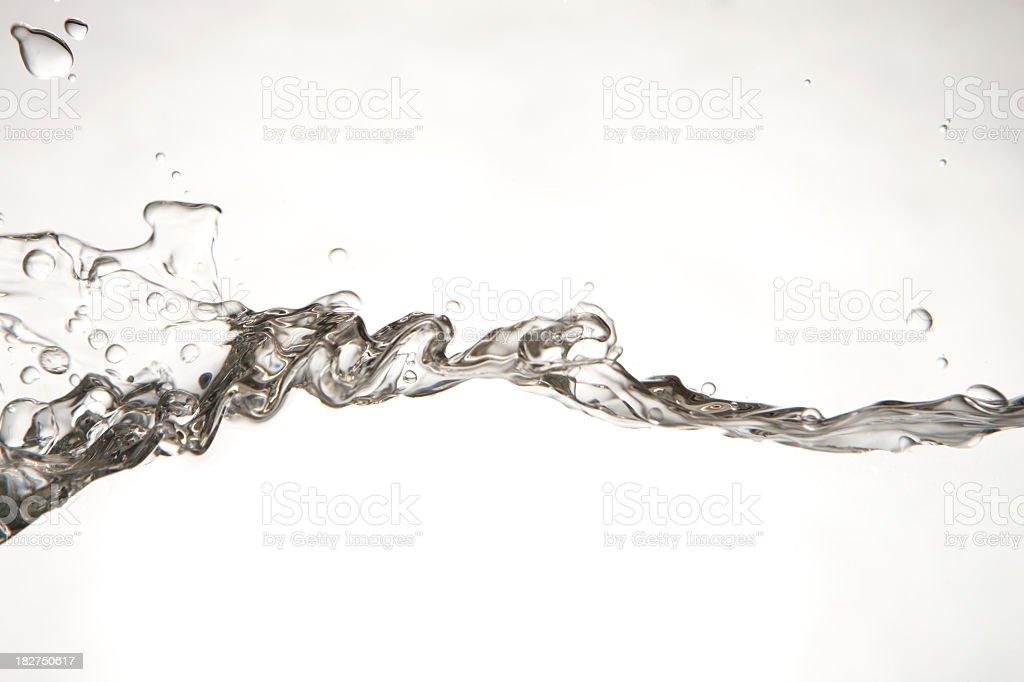 Water splashing royalty-free stock photo