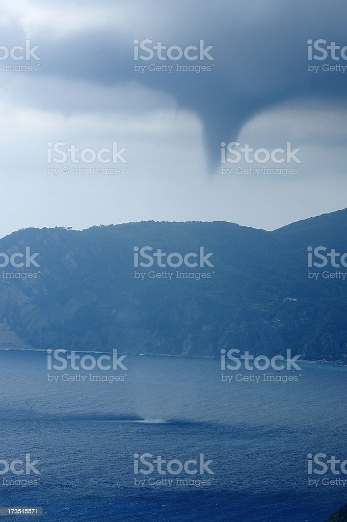 Water Spout royalty-free stock photo