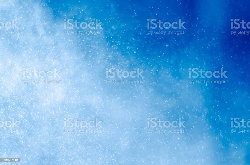 Water spray splashing stock photo