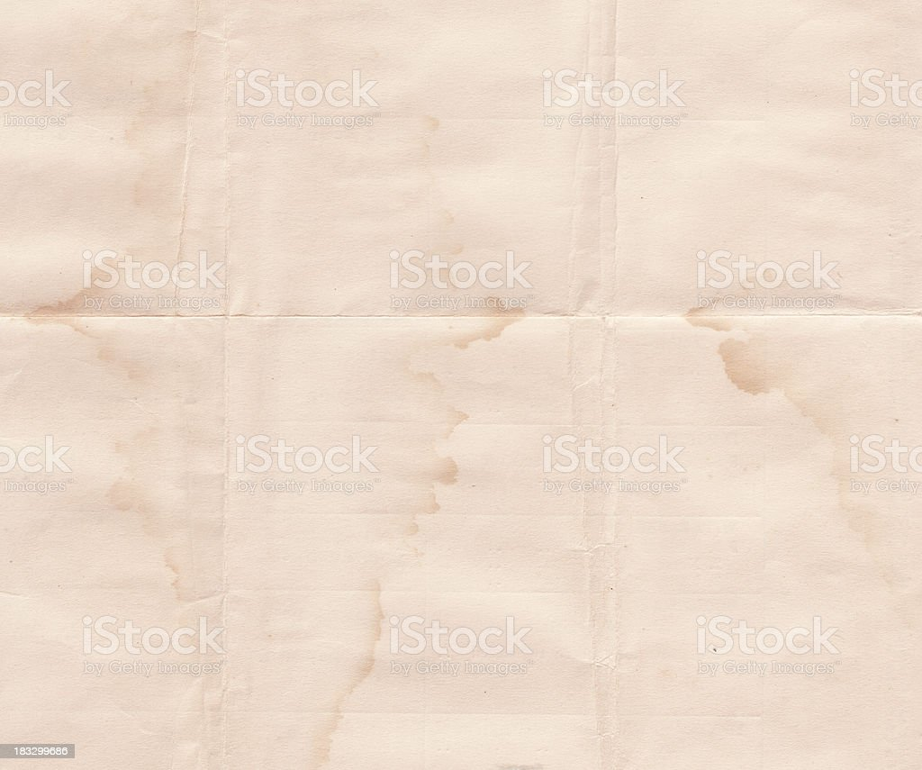 Water Stained royalty-free stock photo