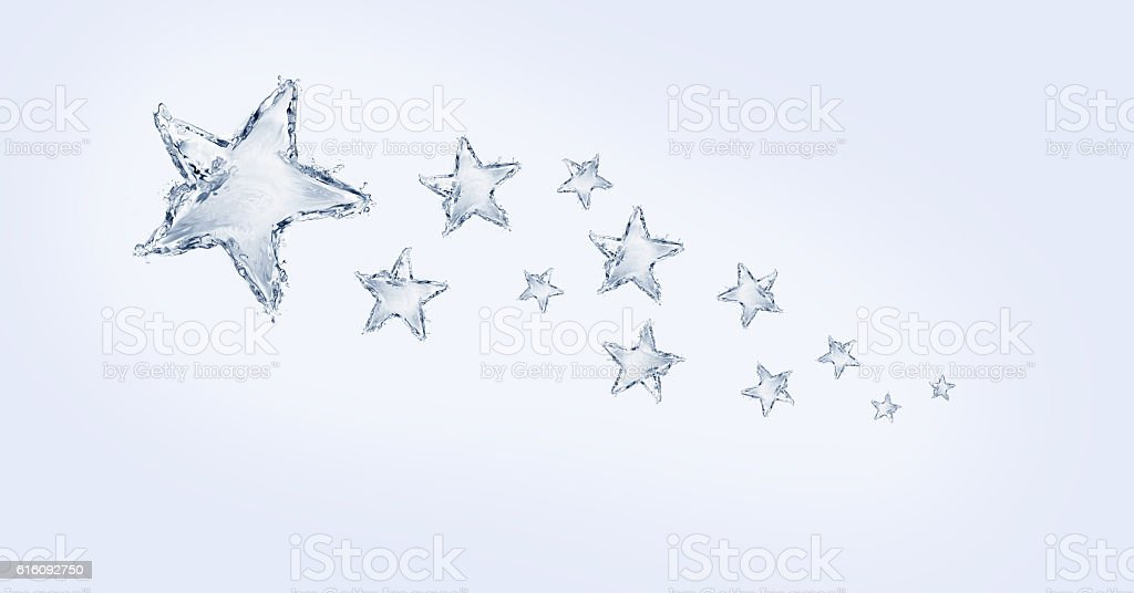 Water Star Trail royalty-free stock photo
